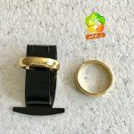 انگشتر رینگ استیل طلایی