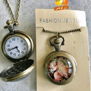 گردنبند ساعت رو مانتویی زنانه