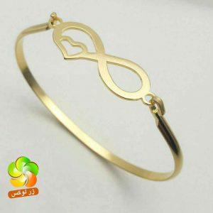دستبند النگویی دخترانه بی نهایت