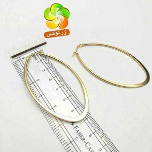 گوشواره حلقه ای بزرگ استیل