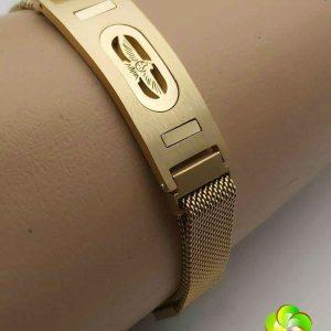دستبند مگنتی مردانه با طرح فروهر