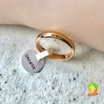 انگشتر رینگ شوپینگ طلایی