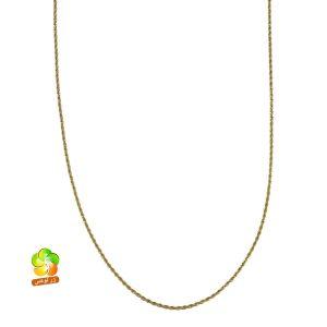 زنجیر طنابی استیل طلایی